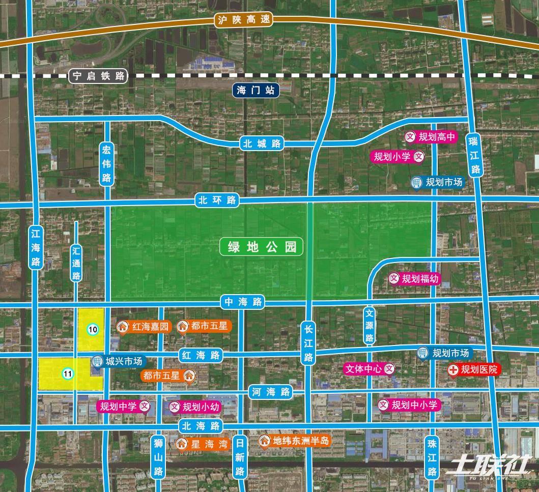 随着上海2035规划的公布,海门定位不断提高,从