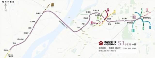 南京地铁S3线(宁和线)