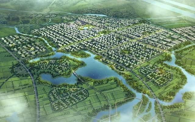 北部乌江新城片区效果图
