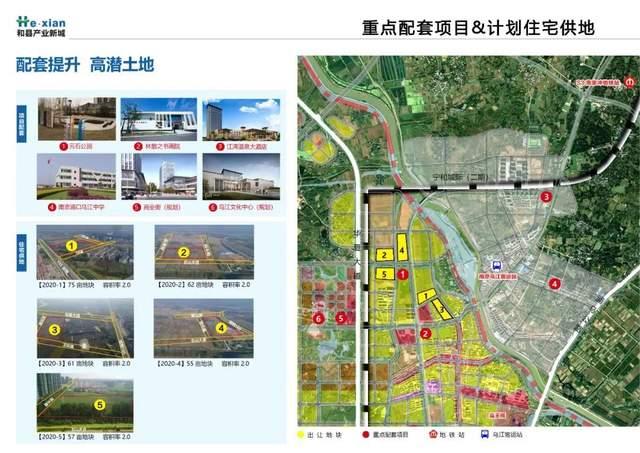 重点项目配套及计划住宅供地信息