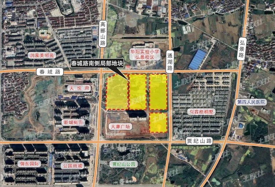 ▲ 城南片区地块位置图