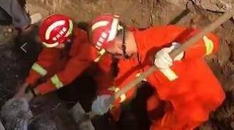 楼事精选|武进一工地渠道突然坍塌 一工人被掩埋