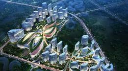 """海天中心、胶州湾第二隧道……青岛重点建设项目春节""""加速跑"""""""