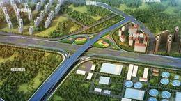环湾路-长沙路立交桥项目最新进展:施工转为地上 首个墩柱顺利浇筑