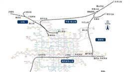 北京市郊铁路城市副中心线西延及通密线今开通运营