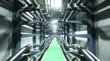 江北新区地下综合管廊今日正式投运