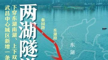 下穿东湖南湖,两湖隧道月底开工!武昌中心城区新增一条快速通道