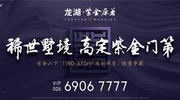 高定紫金门第!龙湖·紫金原著墅境洋房,稀世竞藏