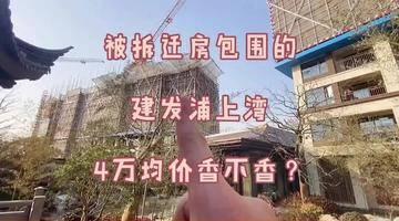 浦江某拆迁基地里的新房,4万的均价不太香?