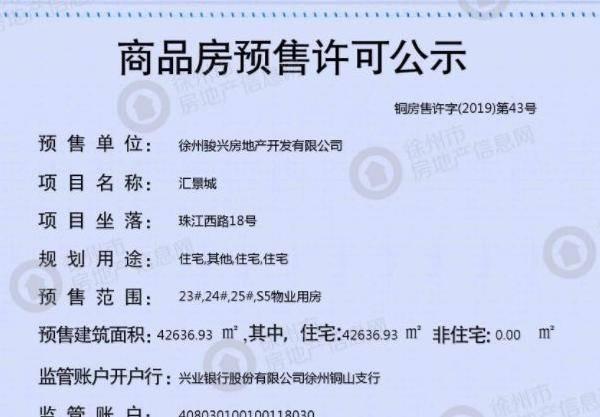 中骏汇景城项目首开房源领预售!均价:10500元/㎡,预计近期开盘!(内附价格表)