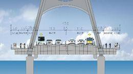 未来的尹山大桥长什么样?六车道!