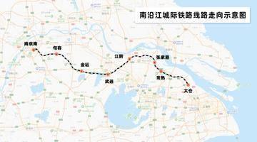 沪宁第二条城际铁路有进展,上海⇄张家港、江阴等地将更便捷!