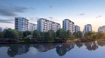 城东新城这个楼盘,既能筑造高品质住房,还顺手把周边环境提升了一下
