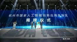"""国家级""""先导区""""揭牌!杭州这一领域发展要达全国领先、国际先进!"""