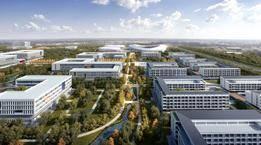 河海大学常州校区主体工程开工