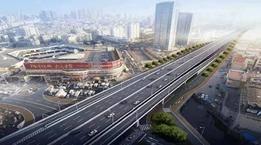 青岛市区这座高架开建 辽阳西路要这么走…