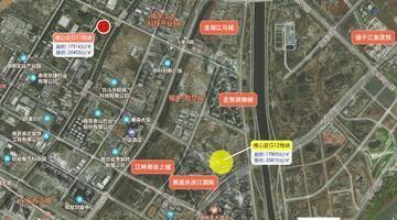 最高楼面价25810元/㎡!刚刚,南京江北核心区再挂1幅纯宅地!