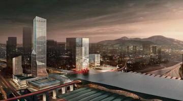 深圳北站汇德大厦即将竣工,258米刷新天际线