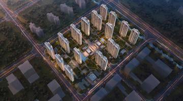 地价29590元/㎡!河西中G23地块规划出炉,拟建15栋住宅楼