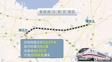这条高铁通车时间定了!青岛到潍坊17分钟、到济南50分钟