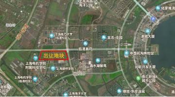 起始总价为34.34亿元,上海挂牌临港商住地块