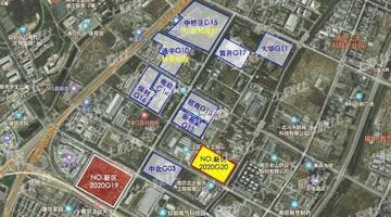 """起价43.1亿!南京江北3幅地明日开拍!G19地块为宝龙""""定制""""?"""