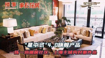 """""""星中式""""4.0旗舰产品,一栋一岛湖居社区,上海主城内封面作品"""