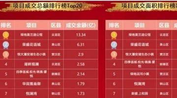 最新!1-9月徐州房企销量TOP20出炉!这家卖了62亿……有你买的楼盘吗?