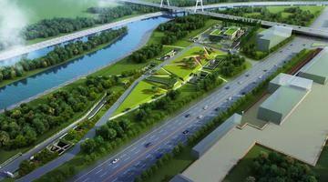 河西南部鱼嘴地区将新增一处停车场