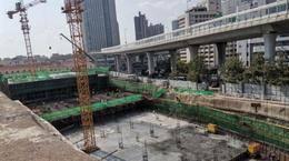 李村路停车场项目进入主体施工 规划505个车位!