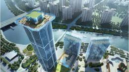 198米+顶楼空中花园!江北一座五星级酒店规划图曝光!